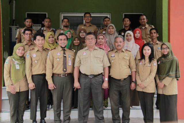 Pegawai KKP Sabang dalam PIN Zona Integritas